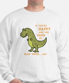t-rex-clap-2-DKT Sweater