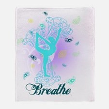 Breathe Throw Blanket