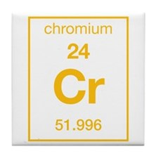 Chromium Tile Coaster