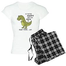 t-rex-clap-2-LTT Pajamas