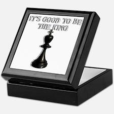 Chess King Keepsake Box