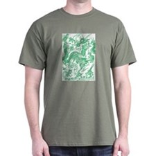 Jade Multidragon T-Shirt