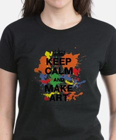 Keep Calm and Make Art Tee