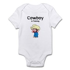 Cowboy in Training Infant Creeper