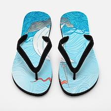 Sailboat Flip Flops
