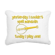 Funny Mandolin Rectangular Canvas Pillow