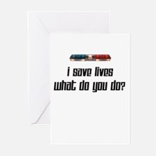 I Save Lives-Light Greeting Cards (Pk of 10)