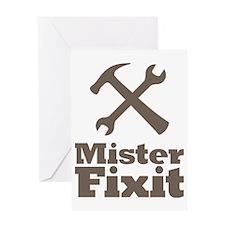 Mister Fix It Mr. Fixit Greeting Card
