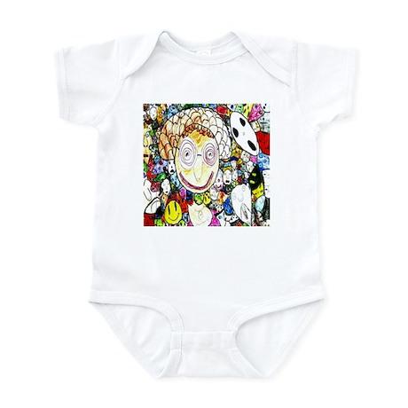 MILLIONS OF FACES - SEAN ART Infant Bodysuit
