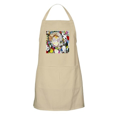 MILLIONS OF FACES - SEAN ART BBQ Apron