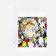 MILLIONS OF FACES - SEAN ART Greeting Cards (Packa