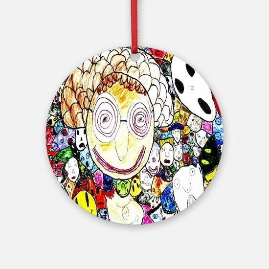 MILLIONS OF FACES - SEAN ART Ornament (Round)