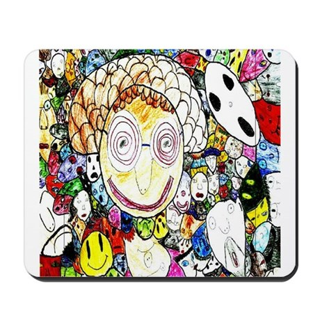 MILLIONS OF FACES - SEAN ART Mousepad