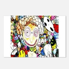 MILLIONS OF FACES - SEAN ART Postcards (Package of