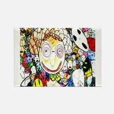 MILLIONS OF FACES - SEAN ART Rectangle Magnet (10