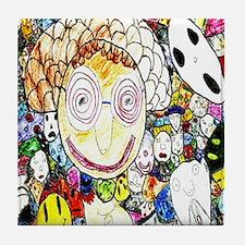 MILLIONS OF FACES - SEAN ART Tile Coaster