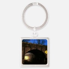 The Tunnel Square Keychain