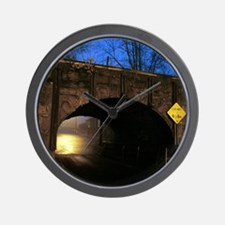 The Tunnel Wall Clock