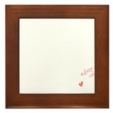 Act Justly. Love Mercy. Framed Tile