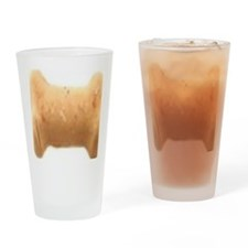 bone biscuit Drinking Glass