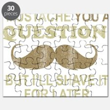 I Mustache Ask You a Question Puzzle