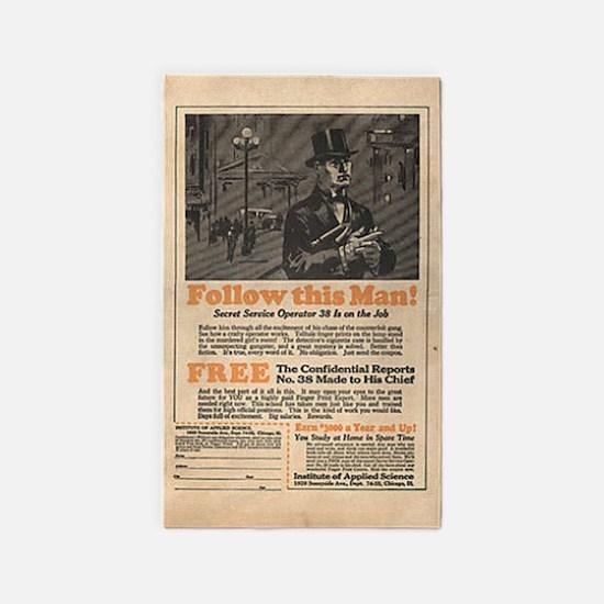 1933 comic book ad 3'x5' Area Rug