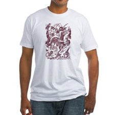 Brown Multidragon Shirt