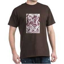 Brown Multidragon T-Shirt