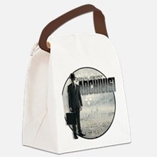 Project Archivist White T Canvas Lunch Bag