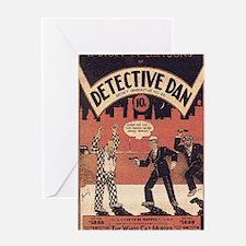 Dectective Dan Greeting Card