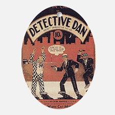 Dectective Dan Oval Ornament