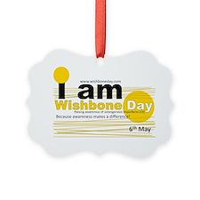 I am Wishbone Day Ornament