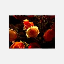 Roses I 5'x7'Area Rug