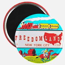 Freedomland Magnet