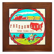 Freedomland Framed Tile