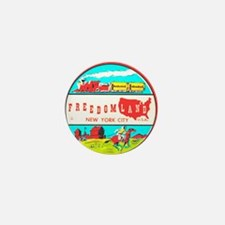 Freedomland Mini Button