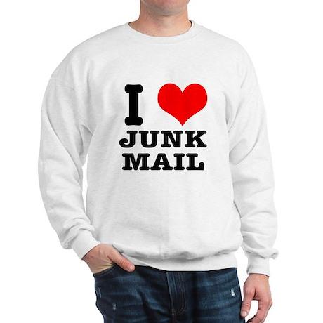 I Heart (Love) Junk Mail Sweatshirt