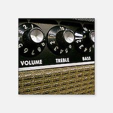 "Amp Control Panel shirt Square Sticker 3"" x 3"""