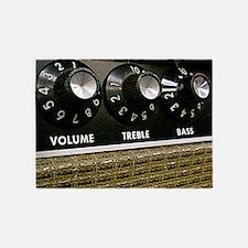 Vintage Amplifier 5'x7'Area Rug