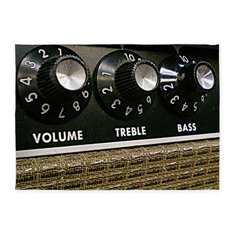 Vintage Amplifier 5u0027x7u0027Area Rug