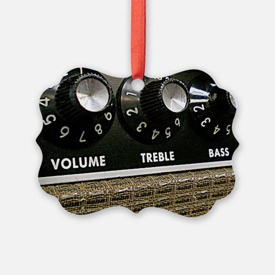 Vintage Amplifier Ornament