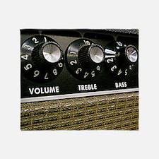 Vintage Amplifier Throw Blanket