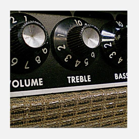 Vintage Amplifier Tile Coaster
