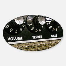 Vintage Amplifier Sticker (Oval)