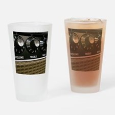 Vintage Amplifier Drinking Glass