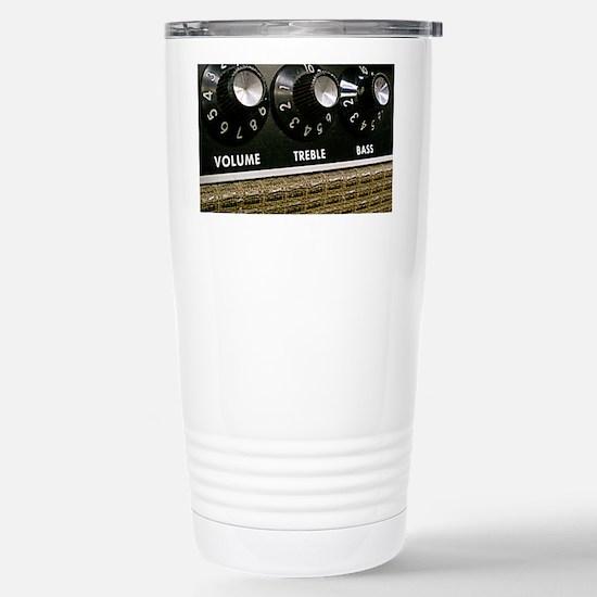 Vintage Amplifier Stainless Steel Travel Mug