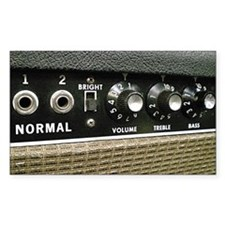 Tube Amp Panel Decal