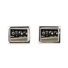 Tube Amp Panel Cufflinks