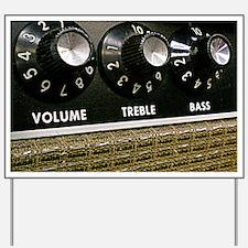 Vintage Amplifier Yard Sign