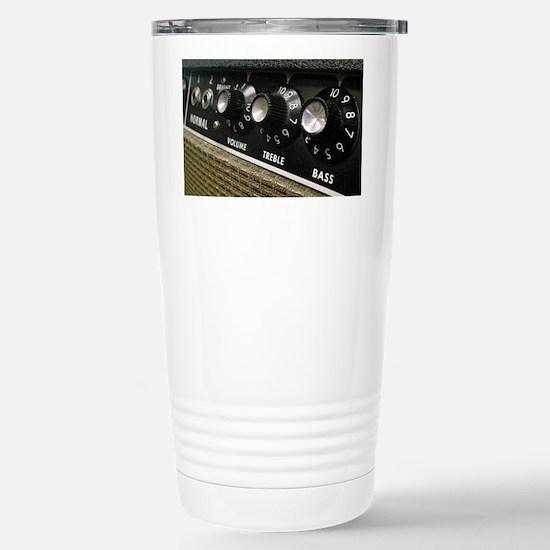 Amplifier panel Stainless Steel Travel Mug